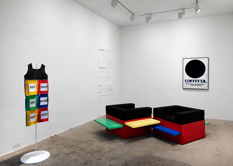 Stephen Willats, Installation view