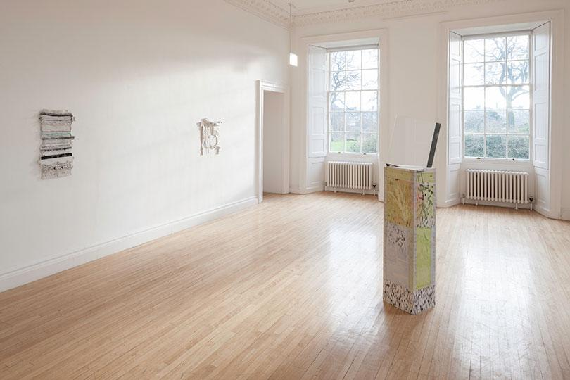Installation view persistencebeatsresistance, Inverleith House, Edinburgh, 2014, Courtesy of the Artist and The Modern Institute/Toby Webster Ltd, Glasgow. Photo: Ruth Clark