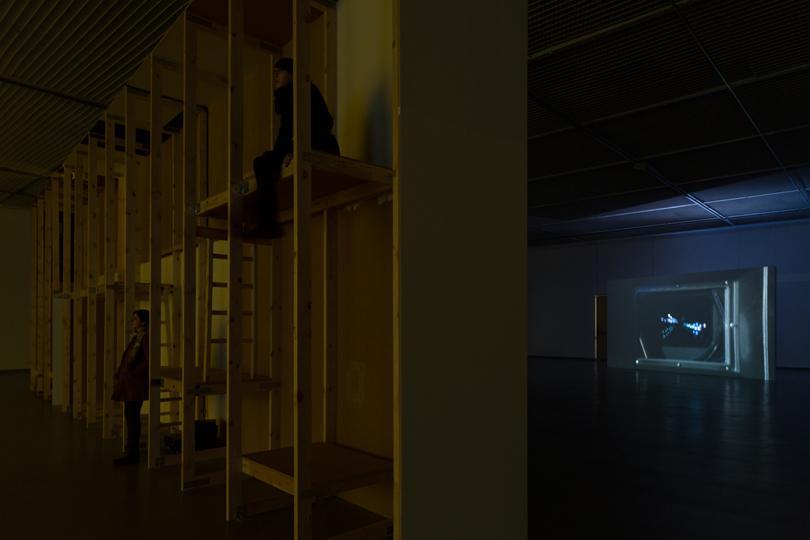 Installation view, CAC Vilnius, 2014