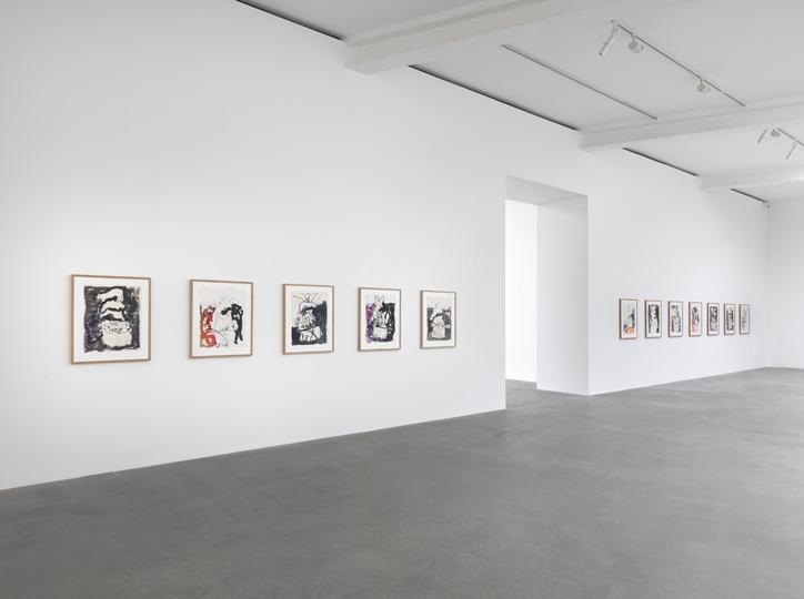 Farewell Bill installation view, Gagosian London (2014)