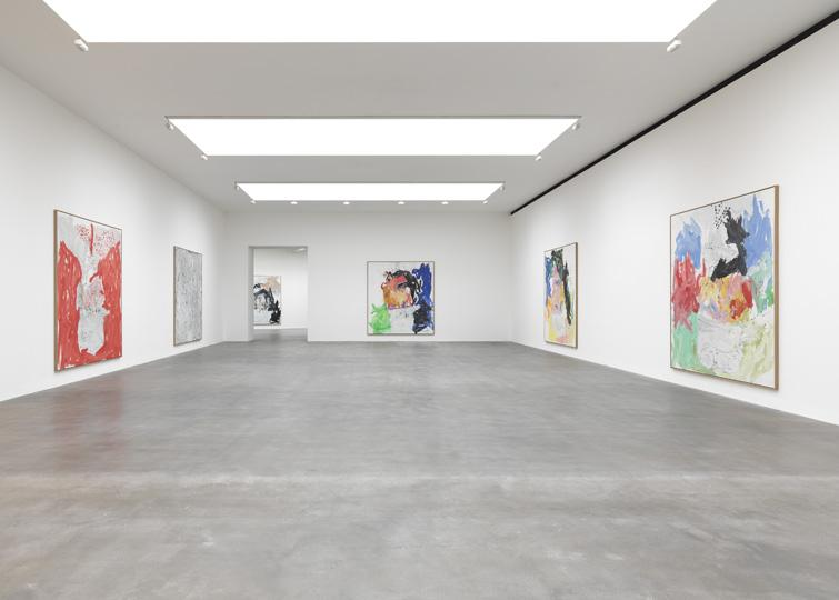Farewell Bill installation view, Gagosian London (2014)