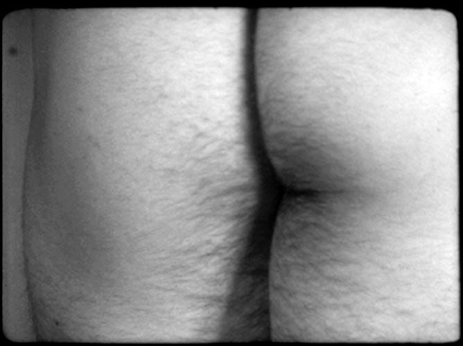 Filmstill from Film No. 4 (Bottoms) Fluxfilm No. 16, 1966 16mm film transferred to digital, black and white, Silent, 5min 30 sec Private collection © Yoko Ono