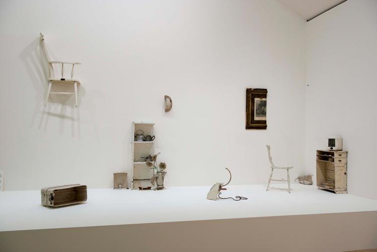 Yoko Ono, Half-a-Room, 1976, installation view, ©GuggenheimBilbao