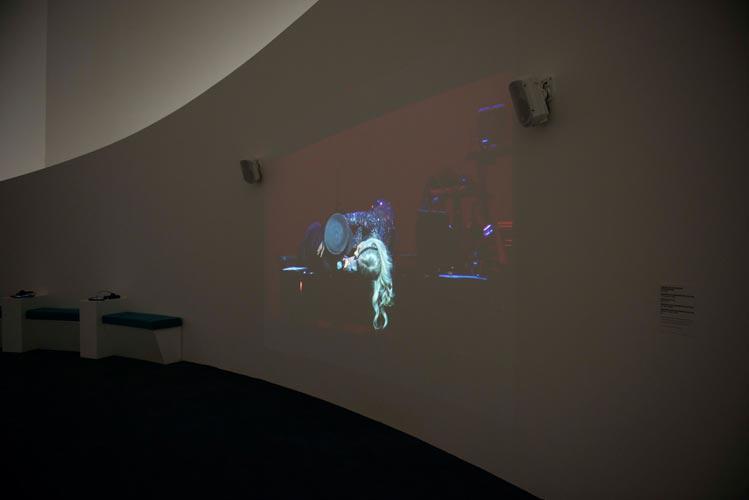 Yoko Ono, Yoko Ono Plastic Ono Band & Lady Gaga, installation view, ©GuggenheimBilbao