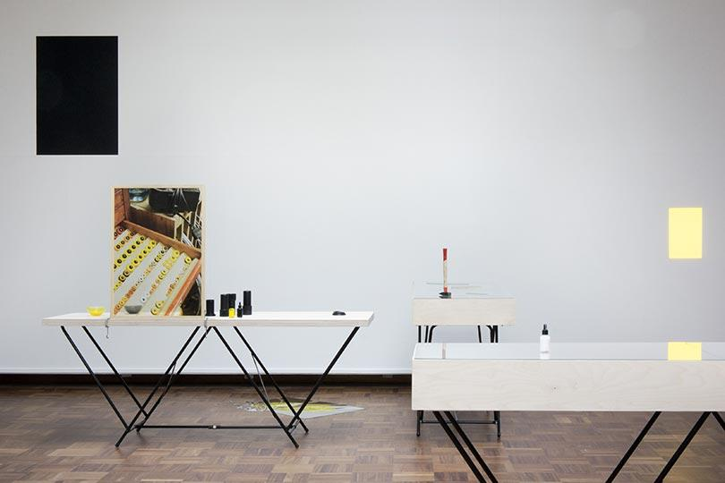 Kathrin Sonntag, Installation view from I SEE YOU SEEING ME SEE YOU, Cooper Gallery 2014