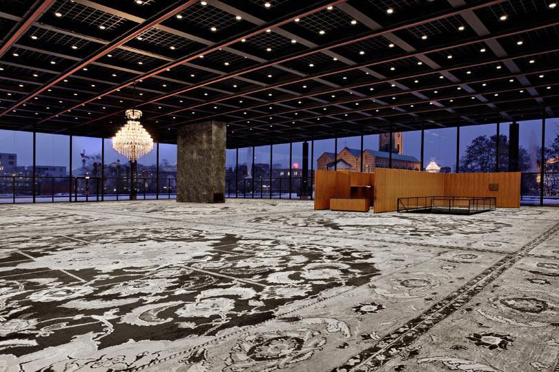 04 Rudolf Stingel Installationsansicht 4