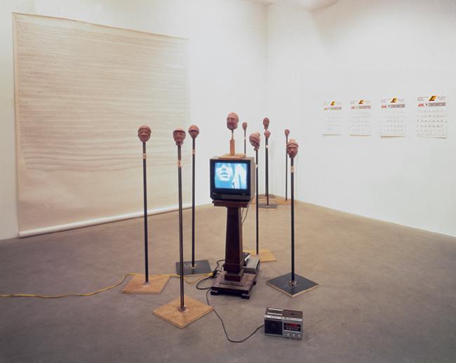 4 sean Landers installation