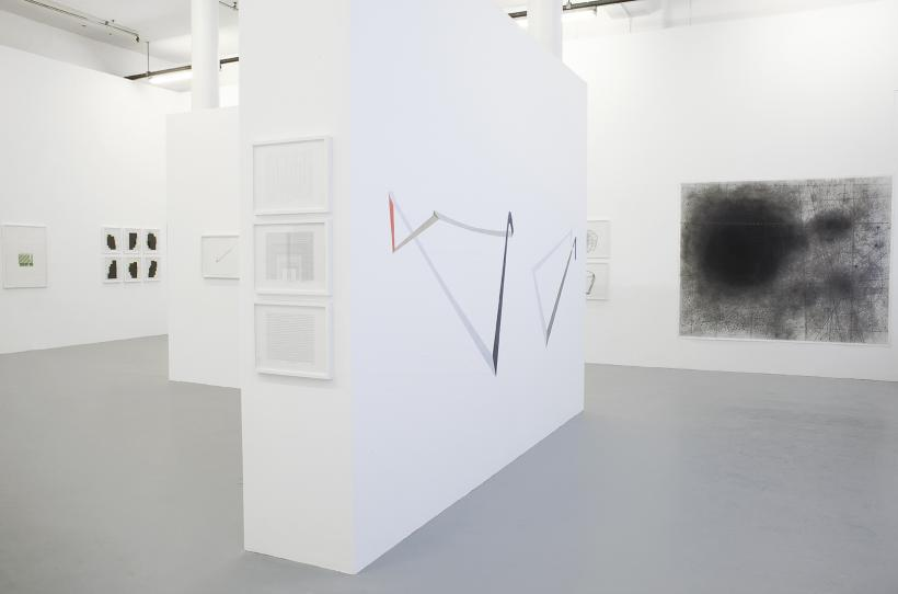 Abstract Drawing (installation view)