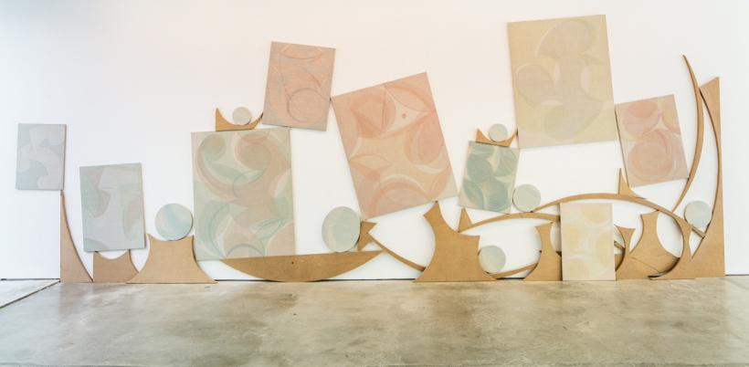 Yelena Popova: Drying Time, installation view
