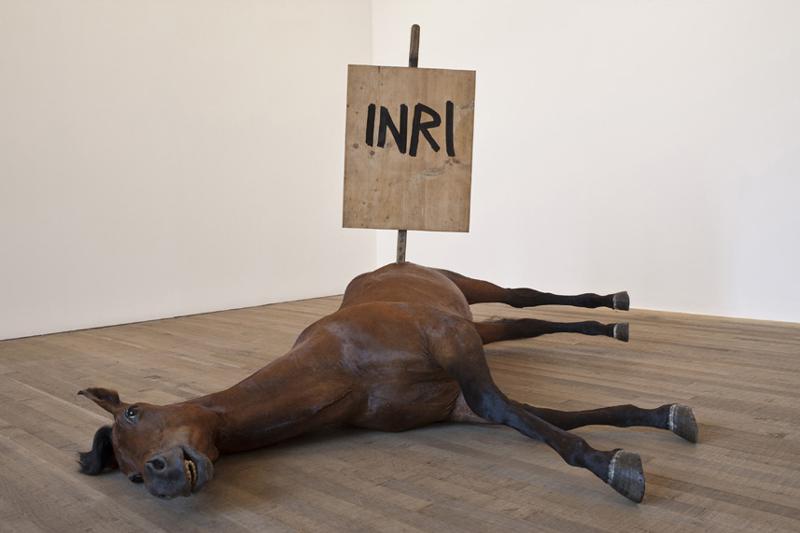 4 Mauriziocattelan Horse