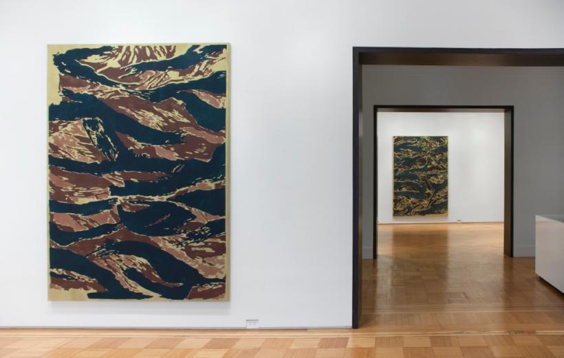 Tigris, Installation view at Skarstedt Gallery (2014)