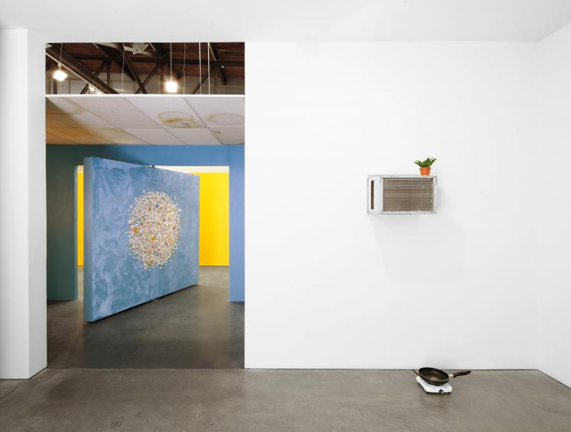Installation view of Mika Rottenberg: Bowls Balls Souls Holes