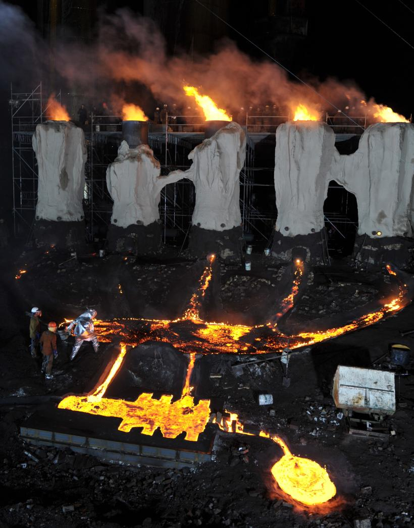 River of Fundament, 2014 Production Still