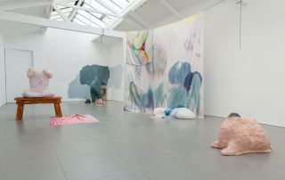 Pontoon Lip, installation view, Cell Project Space, 2014