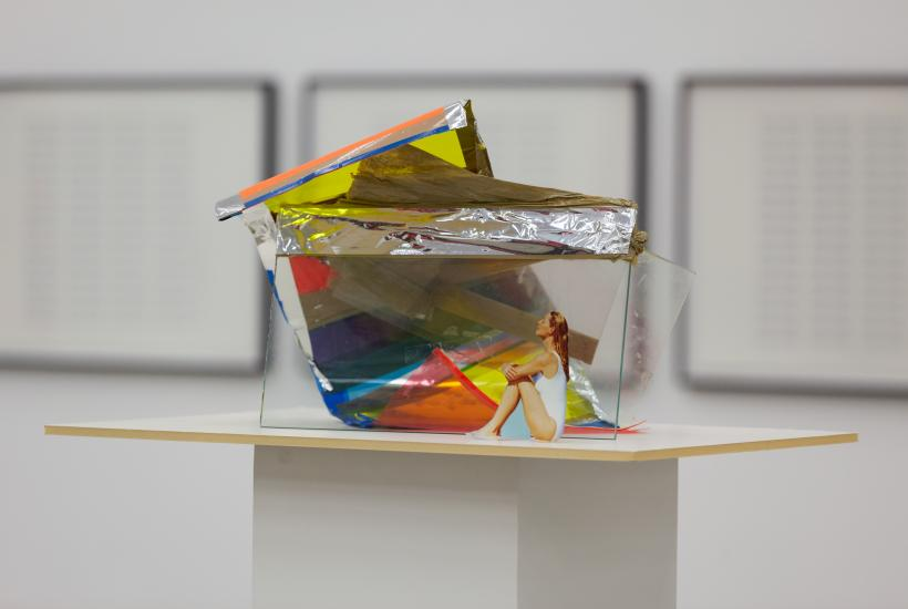 Installation view: I'm Isa Genzken, The Only Female Fool, Kunsthalle Wien 2014, Photo: Stephan Wyckoff