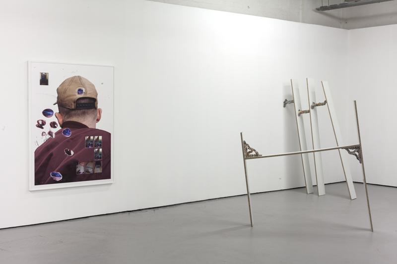 Foklore Contemporain III, installation view