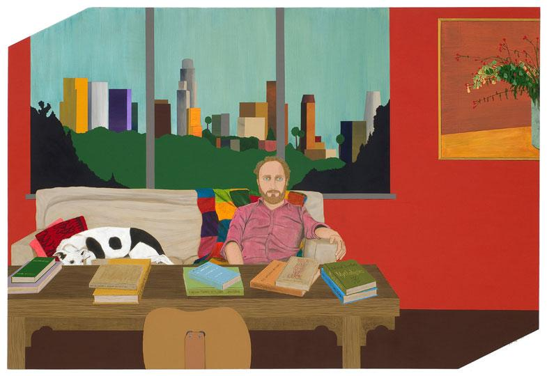 008.ed templeton Portrait of Mike Mills, Acrylic on Panel, 2008