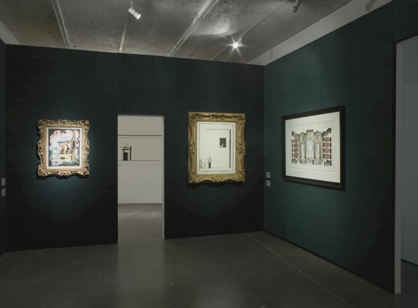 Pablo Bronstein, Recent History, installation view Herald St 2014