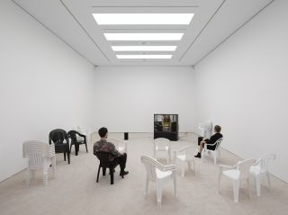 Leo Gabin: Inside the White Cube, White Cube Mason's Yard, London 2014