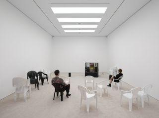 Leo Gabin: Inside the White Cube, White Cube Mason's Yard, London 2014