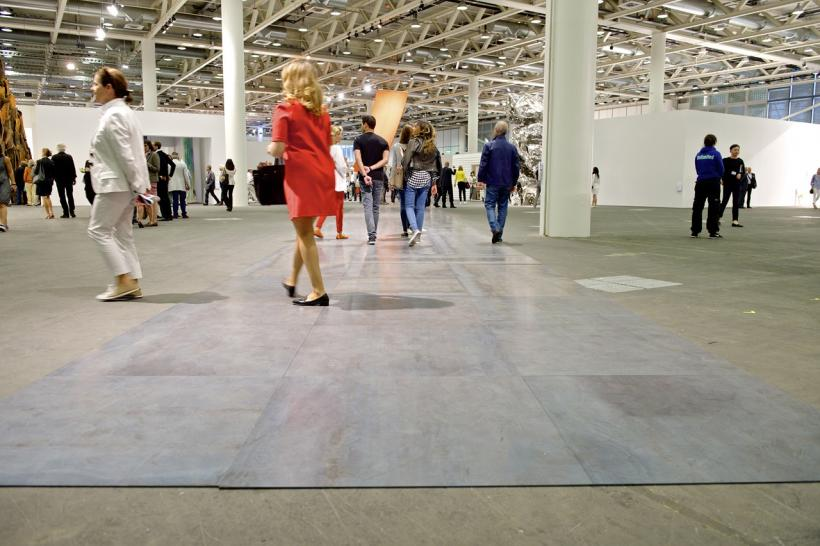 Carl Andre Art Basel in Basel 2014 | Unlimited | Carl Andre | Konrad Fischer Galerie MCH Messe Schweiz (Basel) AG