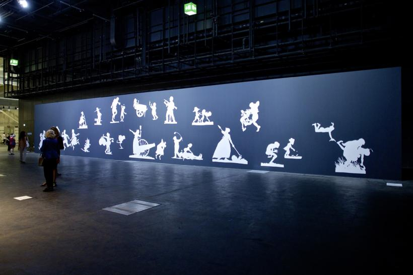Kara Walker Art Basel in Basel 2014 | Unlimited | Kara Walker | Victoria Miro MCH Messe Schweiz (Basel) AG