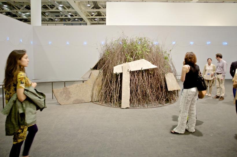 Mario Merz Art Basel in Basel 2014 | Unlimited | Mario Merz | Kewenig MCH Messe Schweiz (Basel) AG