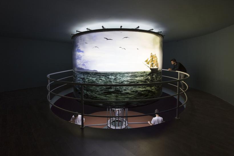 Abajur, Installation view at Fondazione HangarBicocca, 2014