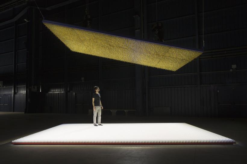 Amerikka, Installation view at Fondazione HangarBicocca, 2014