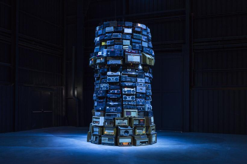 Babel, Installation view at Fondazione HangarBicocca, 2014