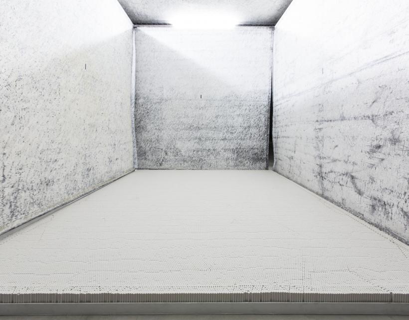 Cinza, Installation view at Fondazione HangarBicocca, 2014