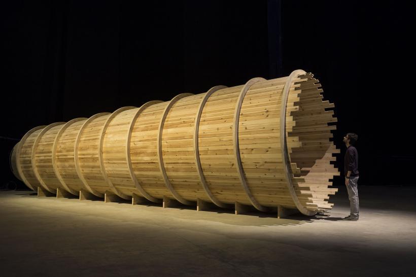 Entrevendo, Installation view at Fondazione HangarBicocca, 2014