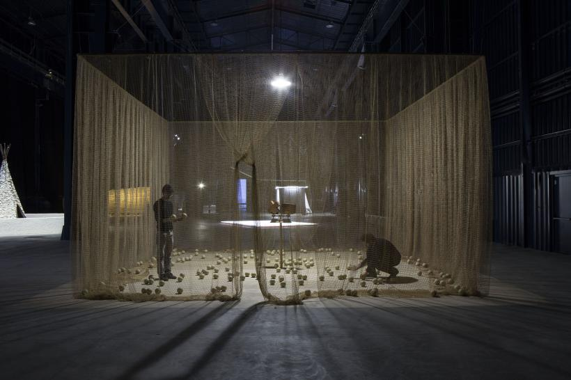 Eureka/Blindhotland, Installation view at Fondazione HangarBicocca, 2014
