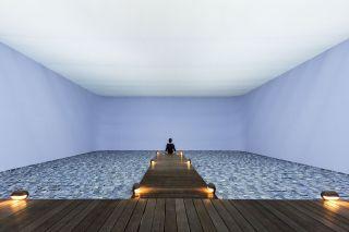 Marulho, Installation view at Fondazione HangarBicocca, 2014