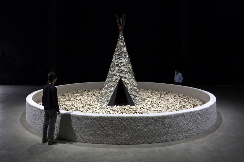 Olvido, Installation view at Fondazione HangarBicocca, 2014