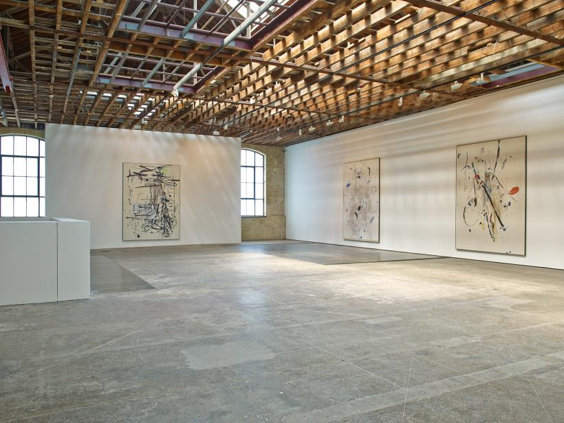 Secundino Hernández, Installation at Victoria Miro (2014)