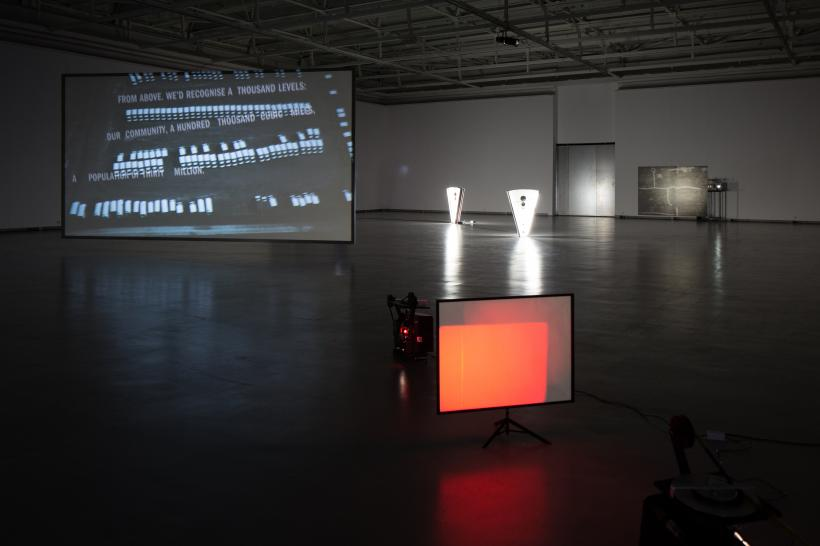 Installation view at the CAC Vilnius