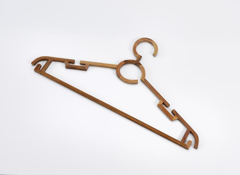 Ai Weiwei  Hanger, 2012  Huali wood  Courtesy the artist and Lisson Gallery