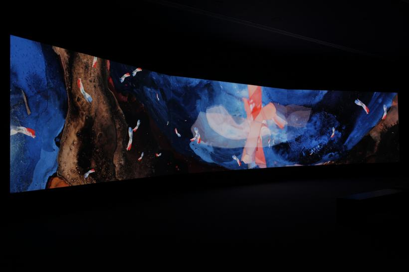 Parallax installation view
