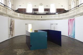 Sam Falls, Installation view at Zabludowicz Collection