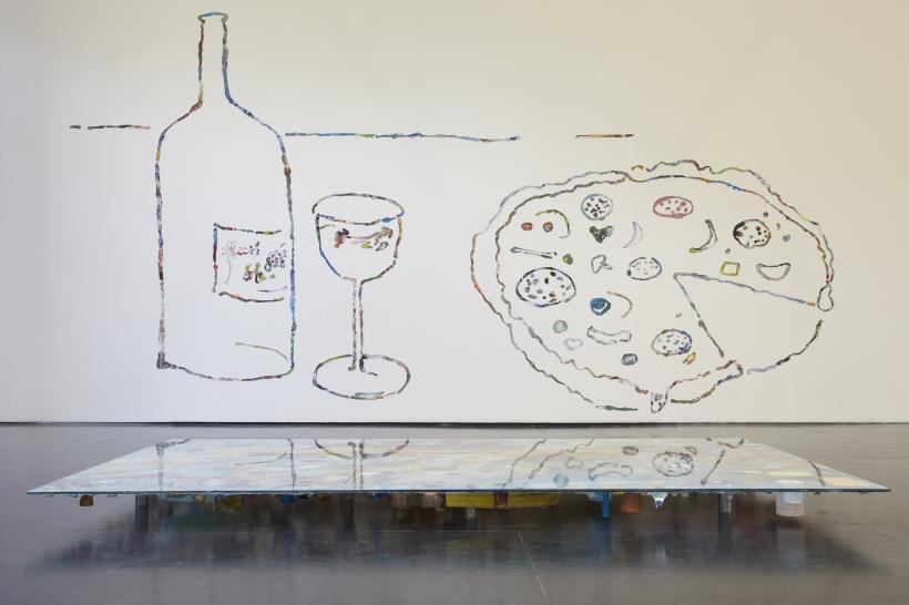Samara Scott, Installation view at Zabludowicz Collection.