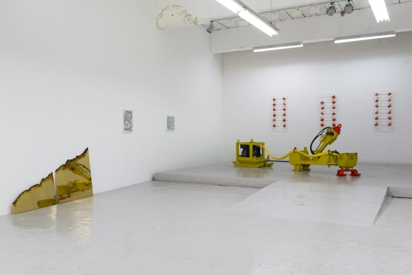 A Strong Affinity, Installation view at Hannah Barry (2014)