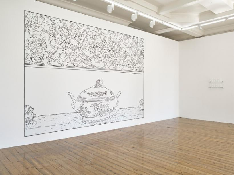 Installation view, Louise Lawler, 'No Drones', Sprüth Magers London (2014)