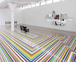 Jim Lambie, The Fruitmarket Gallery (2014)