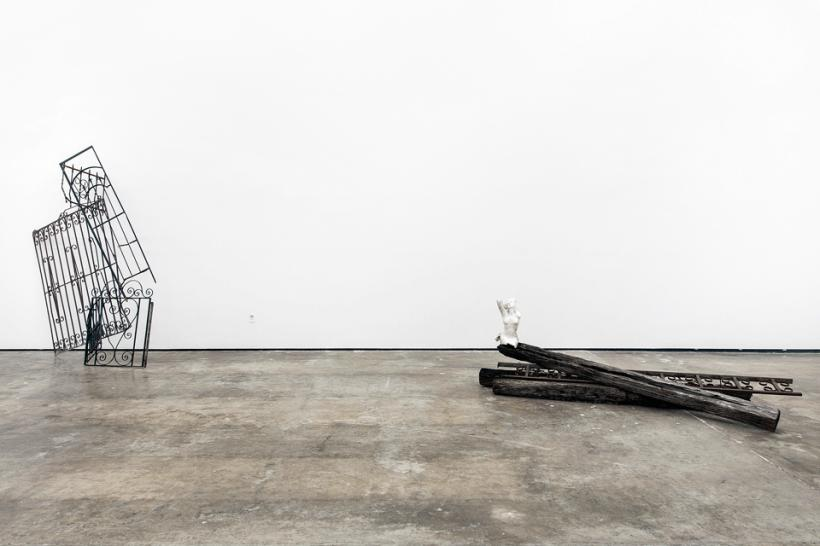 The Castle Dismal (2014) Installation view