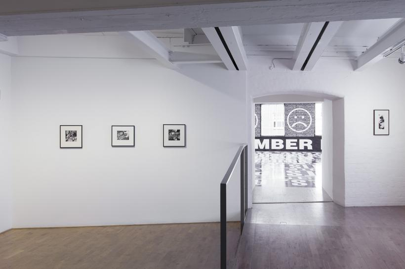 Barbara Kruger, Installation View at Modern Art Oxford (2014)