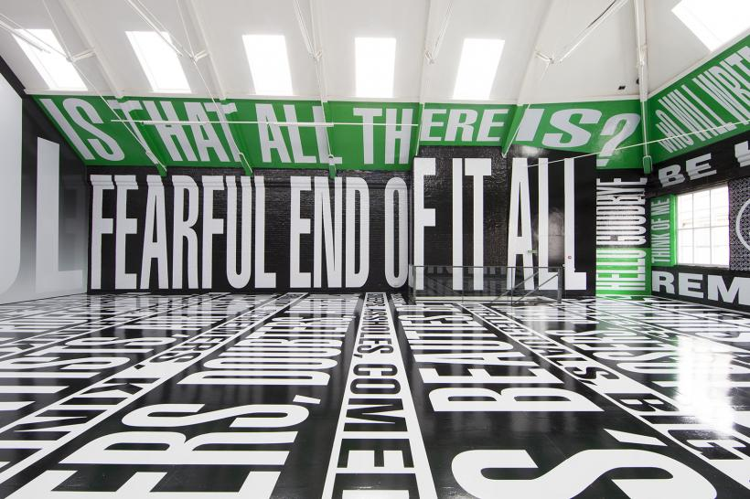 Barbara Kruger, 'Untitled (Titled)', 2014 Installation view, Detail Modern Art Oxford (Upper Gallery)
