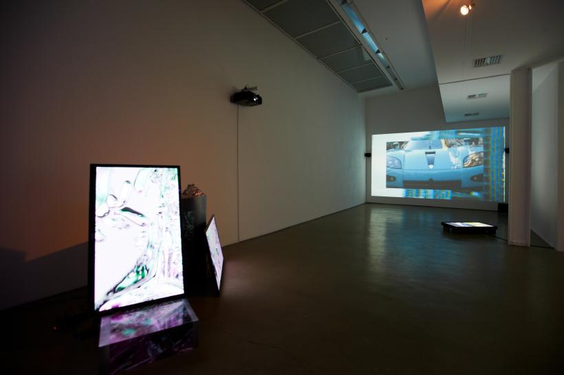 E-Vapor-8 Installation View (2014)