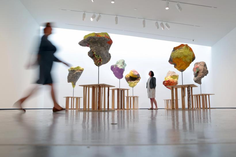 Franz West, 'Parrhesia' (2010), Installation view, 'Franz West: Where is my Eight?', at The Hepworth Wakefield (2014)