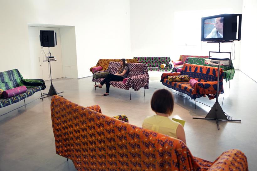 Franz West, 'Ordinary Language' (1993/1995), Installation view, 'Franz West: Where is my Eight?', at The Hepworth Wakefield (2014)